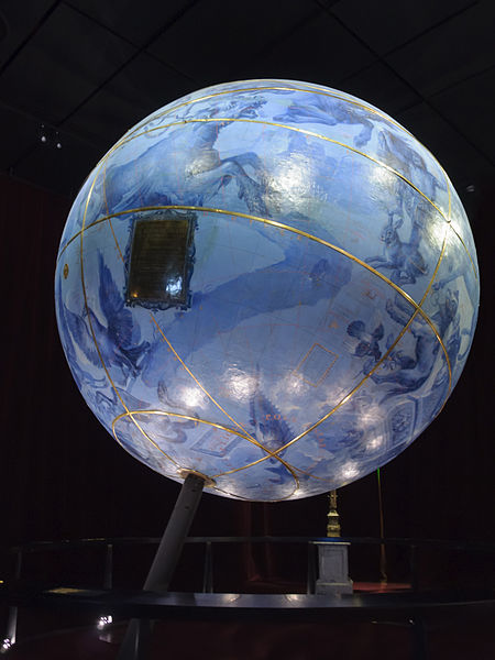 Celestial globe, Bibliothèque nationale de France