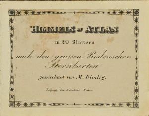 Himmels-Atlas, 1849